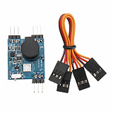 JMT Mini FPV Drone Finder BB Buzzer Alarm with LED Light 5-8V Tracker 120dB Sound BB Ring for RC Multicopter Quadcopter