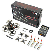 Happymodel Mobula 7 Mobula7 ​V2 75mm Crazybee F3 Pro OSD 2S Whoop FPV Racing Drone BNF w/ Spare Frame and Glue For Self Repair