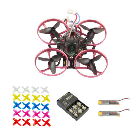 JMT 75MM Brushless Metal Frame FPV Racing Drone Quadcopter BNF With Crazybee F3 Pro FC Flysky/Frsky/DSMX Upgraded Mobula7