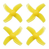 FullSpeed FSD 40mm 4-blade Whoop Propellers 1.5mm Shaft Hole CW CCW Props for TinyLeader FPV Racing Drone Quadcopter