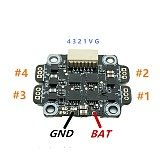 FullSpeed FSD408 2S-3S 8A 16*16mm Mount Hole FlyTower F411 FC 2-3S Flight controller BLHELI_S 4in1 ESC for Tinyleader Racing Quadcopter RC Drone