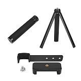 Sunnylife 3in1 Phone Fixing Clamp Clip Holder for DJI OSMO POCKET Handheld Camera Gimbal Mini Desktop Tripod & Extended Selfie Stick Rod