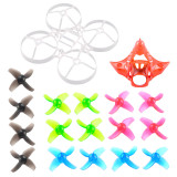 Mobula7 V2 V3 Frame Propellers Camera Canopy V2 for DIY 75mm Bwhoop75 Brushless Whoop Happymodel Mobula7 Mobula 7 Eachine TRASHCAN TC75 FPV Racing Drone RC Racer Quadcopter
