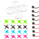 Mobula7 V2 V3 Frame Propellers SE0802 1-2S CW CCW Motor for DIY 75mm Bwhoop75 Brushless Whoop Happymodel Mobula7 Mobula 7 Eachine TRASHCAN TC75 FPV Racing Drone RC Racer Quadcopter