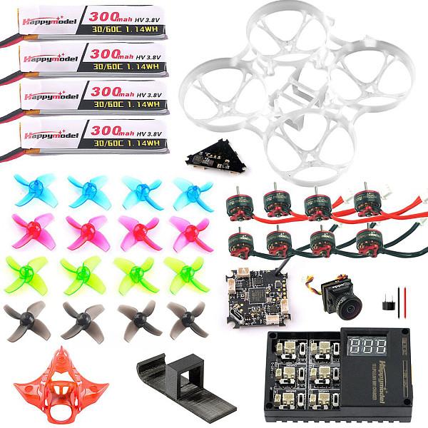 Full Set DIY Mobula 7 V3 FPV Drone Accessories Crazybee F4 PRO FC V3 Frame VTX SE0802 Motor Turbo Eos2 Camera for Mobula7 75mm Bwhoop75 Brushless Whoop Eachine TRASHCAN TC75