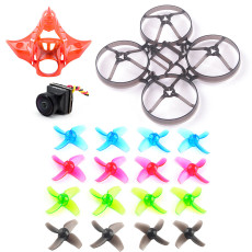 Mobula7 V2 V3 Frame Propellers Canopy V2 Caddx Turbo Eos2 Camera for DIY 75mm Bwhoop75 Brushless Whoop Happymodel Mobula7 Mobula 7 Eachine TRASHCAN TC75 FPV Racing Drone RC Racer Quadcopter