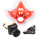 DIY Mobula 7 FPV Drone Accessories Turbo Eos2 Camera VTX V2 Canopy Combo for Mobula7 75mm Bwhoop75 Brushless Whoop Eachine TRASHCAN TC75