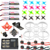 Full Set DIY Mobula 7 V3 FPV Drone Accessories Crazybee F4 PRO FC V3 Frame SE0802 19000KV Motor Turbo Eos2 Camera for Mobula7 75mm Bwhoop75 Brushless Whoop Eachine TRASHCAN TC75