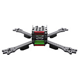 FPV Racing Drone Frame Kit woodpecker 235 235mm Carbon Fiber Frame Kit X Type For RC Racer Quadcopter