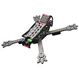 FPV Racing Drone Frame Kit woodpecker 235 235mm Carbon Fiber Frame Kit X Type For RC Racer Quadcopter