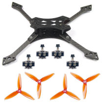 JMT 220MM DIY FPV Racing Drone Accessories Combo Falcon-220 Frame Kit 5152S CW CCW Props 2306-2400KV 3-4S Motors