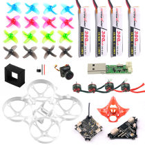 Basic Version Full Set DIY Mobula 7 V3 FPV Drone Accessories Combo Crazybee F4 PRO FC V3 Frame SE0802 Motor Turbo Eos2 Camera VTX for Mobula7 75mm Bwhoop75 Brushless Whoop Eachine TRASHCAN TC75