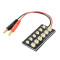 1 To 12 Cells Parallel Charge Board For 3.7V E-Flite MCP X Walkera RC helicopter Lipo battery AKKU