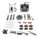Full Set Hexacopter 6-axle Aircraft Kit HMF S550 Frame PXI PX4 Flight Control 920KV Motor GPS Gimbal AT10 Transmitter