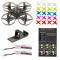 PRO 75mm V2 Crazybee F4 OSD 2S Whoop FPV Watch / Goggles RC Racing Drone with Flysky RX 700TVL Camera 25mW VTX with Parking Apron & Air Gate