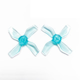 Gemfan 1220 1.2x2x4 31mm 1mm Hole 4-blade Propeller PC CW CCW Props for 0703-1103 RC Drone FPV Racing Brushless Motor