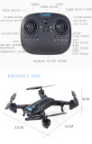 Global Drone A6 GPS Folding Drone FPV Quadcopter RC Aircraft With HD Camera GPS Foldable Selfie