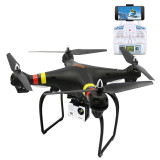 Global Drone GW180 Selfie FPV RC 2.4G RC Quadcopter Drone Aircraft with 720P Wifi / 4K HD Camera One Key Return