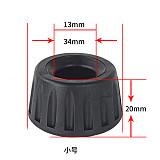 BGNING Anti Vibration Non-Slip Rubber Tripod Foot Pads Heavy Suppression Pads for 668 690 590 888 691 800 880 870 Yunteng Camera Tripod