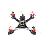 TransTEC LIGHTING MINI PNP FPV Racing Drone Quadcopter 144mm Frame with Omnibus F3 FC Caddx Mircro F1 Camera VTX GEMFAN 3052-3 Props