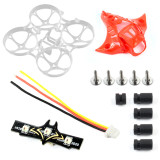 Happymodel Mobula7 V3 Frame V2 Canopy Led Light Damping Ball Screws Shock Combo Set for Mobula 7 75mm Bwhoop75 Brushless Whoop Eachine TRASHCAN TC75