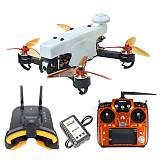 JMT 210 FPV Racing Drone Quadcopter RTF with Radiolink AT10II TX RX FPV Goggles 100KM/H High Speed 5.8G FPV DVR 720P Camera GPS OSD Mini PIX