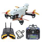 JMT 210 FPV Racing Drone Quadcopter RTF with Flysky FS-i6 TX RX FPV Goggles 100KM/H High Speed 5.8G FPV DVR 720P Camera GPS OSD Mini PIX