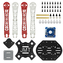 JMT 450 Glassfiber 4-axis Rack Quadcopter Frame with GPS Holder Airframe Kit for DIY FPV RC Drone Aircraft