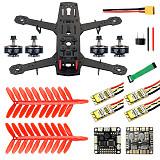 JMT 250 DIY FPV Drone Quadcopter Accessories 250MM Carbon Fiber Frame SP Racing F3 FC Flycolor Raptor BLS Pro-30A ESC 2400KV Motor