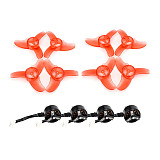 EMAX Tinyhawk Indoor FPV Drone Quadcopter Spare Parts Combo Set 08025 Brushless Motor 15000KV + 40mm 3-Blade CW CCW Propellers