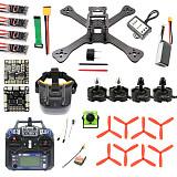 TX5-210 210mm 2.4G RC Racing Drone Mini Quadcopter ARF SP F3 Caddx Turbo S1 Night Version Camera 5.8G VTX FPV Monitor Goggles