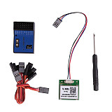 JMT NEW NB One NB One+ 32 Bit Flight Controller Built-in 6-Axis Gyro with Altitude Hold Mode + GPS Module for FPV RC Fixed Wing Automatic Balance