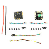 HAKRC MiniF4 Flytower F4 / F3 Flight Controller AIO OSD BEC & 4IN1 20A 15A BLheli_S ESC 2-4S for RC Drone DIY FPV Quadcopter