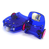 Feichao Smart Car Chassis R3W5 Robot Accessories DIY Car Two-wheel Drive N20 Motor Chassis Educational Kids Toys
