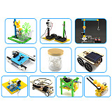 Feichao 10pcs/set Science Educational Kids Toys DIY Car Alarm Tank Helicopter Robot Assembling Toy for Children Gifts