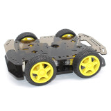 Feichao DIY Kids Toys R1 Smart Car Chassis 4WD Robot Educational Technology Toy for Children Robotic Accessories