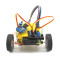 Feichao DIY 7575 N20 Smart Car (Included System) Geared Motor Robot Makes Toy Car Chassis Educational Kids Toys Robotic Accessories