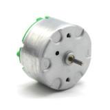 Feichao 4pcs/Lot Metal Case Long Shaft 500 DC Motor DIY Toys 1.5-6V Electric Motors for DIY Car Bubble Machine Fan Accessories