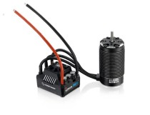 HobbyWing EZRUN-SL 4985 1650KV /5687SL 1100KV Sensorless Brushless 4-pole Motor with MAX6 160A ESC Combo Waterproof for 1/6 1/7 RC Car Buggy Truck