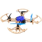 Feichao ZL100 DIY FPV RC Drone Wooden Qudacopter with 720P/480P Camera Remote Control Aircraft Teaching Model