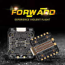 HGLRC Forward 45A 4in1 Mini ESC 20x20mm BLHeli_32 2-6S for FD445 Stack FPV Racing Drone Quadcopter Multi Rotor DIY Aircraft