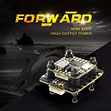 HGLRC FD445 Stack FD F4 Mini Flight Control FD45A 4 In 1 Mini BLHeli_32 2-6S Lipo 45A Brushless ESC 20x20mm High Output Power