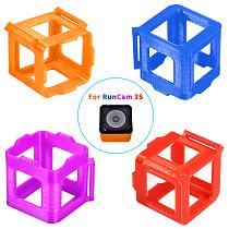 JMT 3D Print Camera Protection Frame TPU Material Cases Fixed Mount Holder For RunCam 3S Camera Seat Bracket