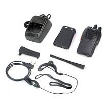 2 Pcs BAOFENG BF-888S UHF FM Transceiver Flashlight Walkie Talkie Two Way Radio Q14514-2