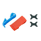 LDARC 2x TPU 2-6s Lipo Battery Holder Protection Landing Gear 0/30 Degree Take Off Bracket for Mini RC Drone Quadcopter Multicopter