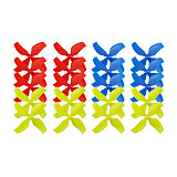 LDARC 10Pair 1545 1540 1.0/1.5 Hole 40mm Lightweight Propeller CW CCW 4-Blade Paddle for Mobula7 Beta75 for Inductrix FPV Tiny 7X R7