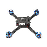 FORESTER 210MM Wheelbase FPV Frame Kit Carbon Fiber CF Rack WIth 4 Motors for DIY FPV Racing Drone Quadcopter Aircraft