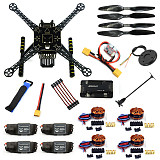 S600 DIY FPV Drone 4 axis Quadcopter Welded Kit Unassembled w/ APM2.8 Flight Control GPS 7M 40A ESC 700kv Motor