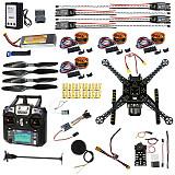Full Set DIY FPV Drone Kit S600 4 axis Aerial Quadcopter Pix2.4.8 Flight Control GPS 7M 40A ESC 700kv Motor FS-I6 TX RX