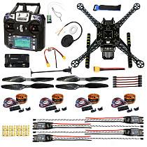DIY FPV Drone ARF W/ FS-I6 TX RX S600 4 axis Quadcopter APM 2.8 Flight Control GPS 7M 40A ESC 700kv Motor